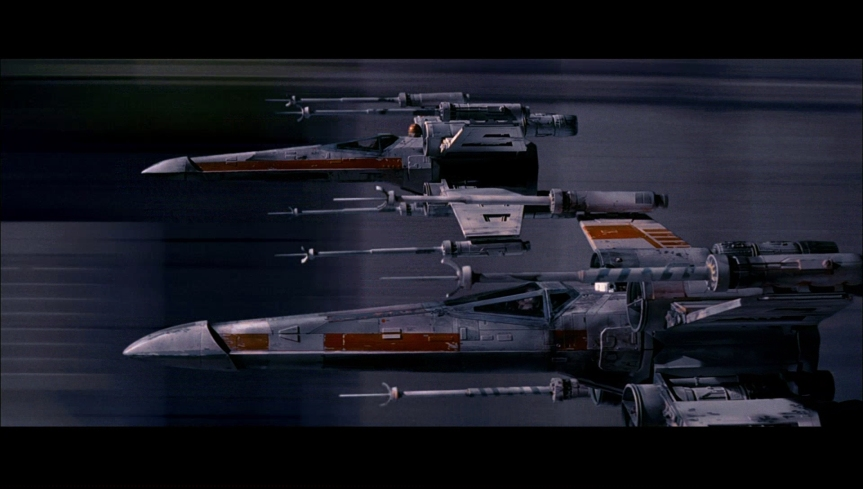 The old X-Wing is iconic and well loved everybody expect the Imps