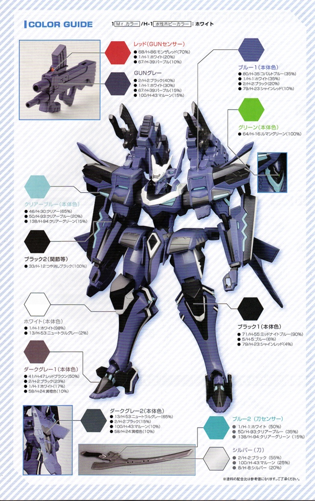 The colouring guide always make me feel like piece of shit for not having time to make my models look like this in few hours.