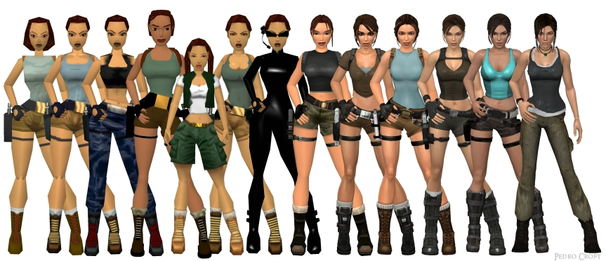 Then again, I never found Lara's design to be all that attractive, but everybody have their own likes and dislikes