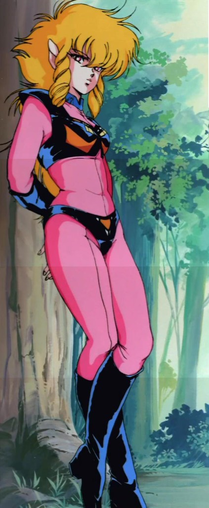 A full composite shot of OVA Iczer-1