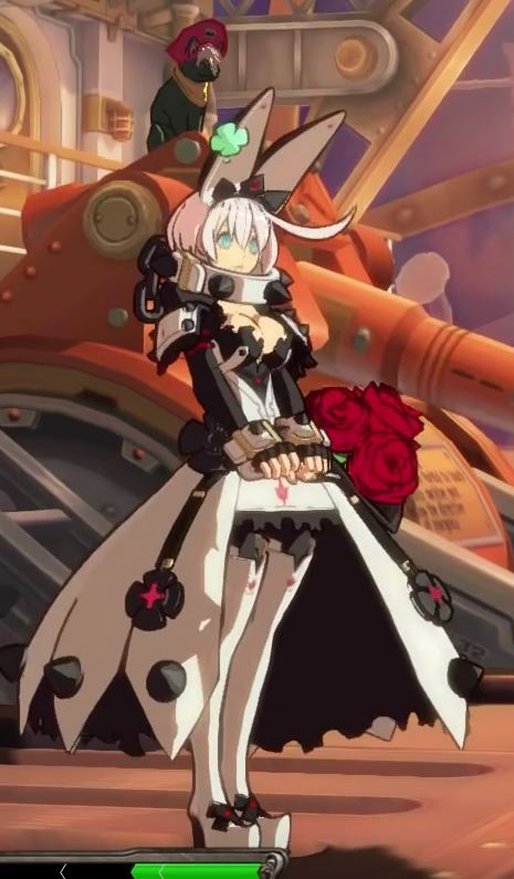 She also has small shields on her shoulders instead of puffy shoulder pieces, connected by two red straps