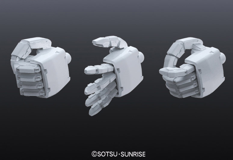 Gundam MS fed manipulator