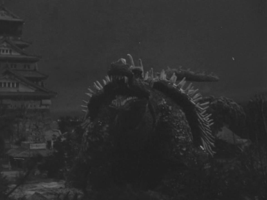Compared to Godzilla, Anguirus' design is bland