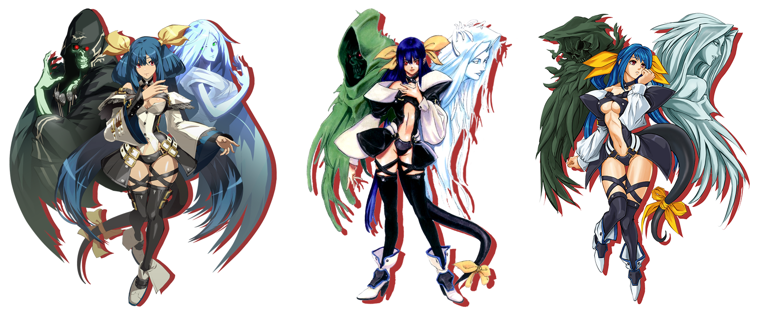 Guilty Gear design comparisons