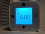 Alarm. Not different hue of blue