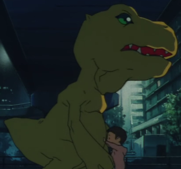Agumon Movie 1