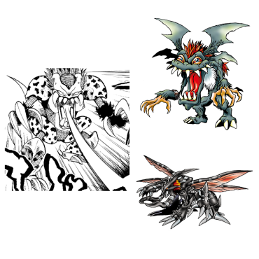 Comparison Digimon
