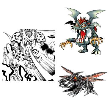 Comparison Digimon