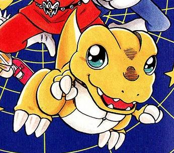 Agumon 1997 Manga