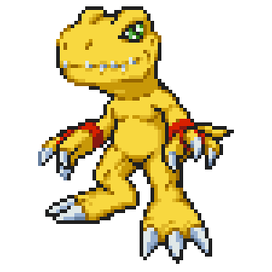 DS - Digimon World DS agumon