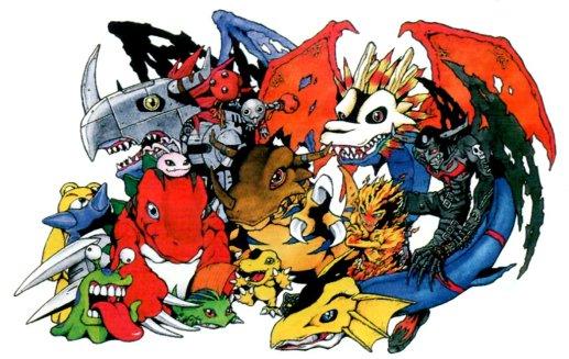 SS- Digimon Digital Monsters S Promo Art