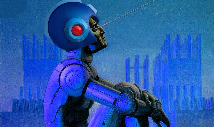 Asimovian Mega Man