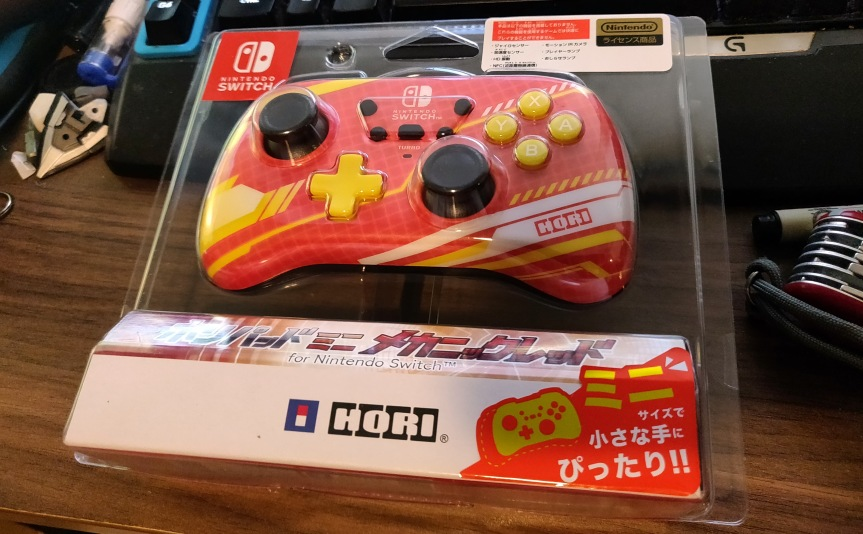 Review: Hori Pad Mini for NintendoSwitch